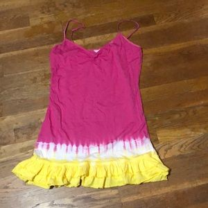 VS pink cover up  or sun dress
